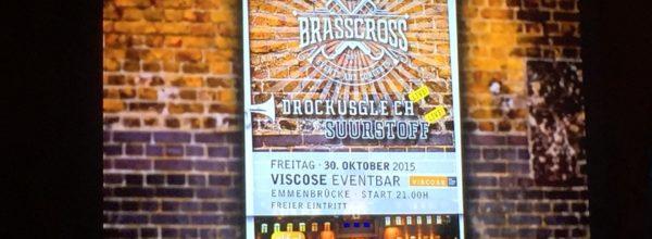 Brasscross Viscose Eventbar
